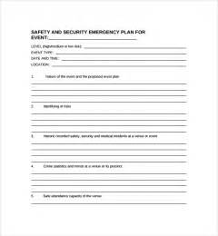 Security Plan Template by Sle Security Plan Template 10 Free Documents In Pdf