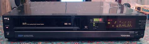 toshiba hi fi stereo vhs vcr model m 9485