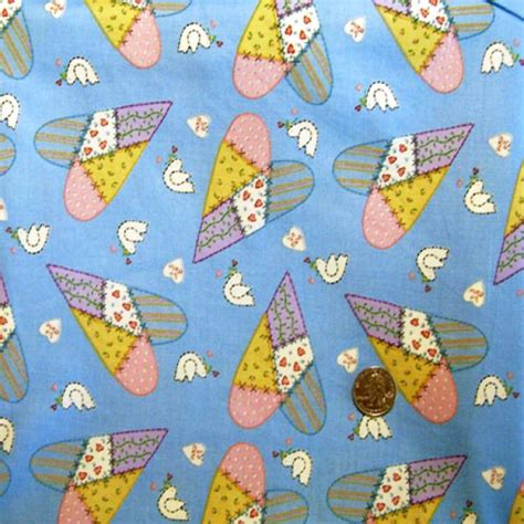 Patchwork Hearts - patchwork hearts fabric