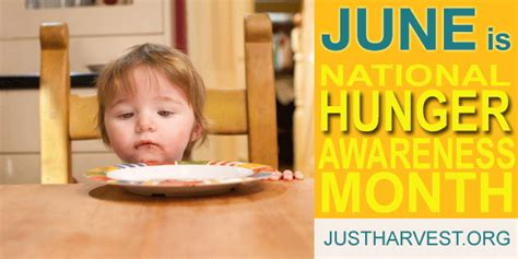 Get Decked Out For National Month by June Is National Hunger Awareness Month Just Harvest