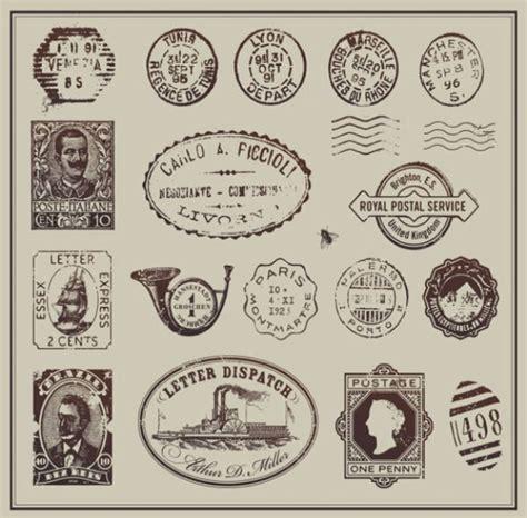 imagenes vintage sellos vectores portafolio blog
