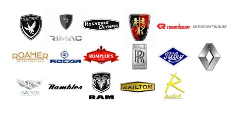 Car Types That Start With R by Car Brands With A Z World Cars Brands
