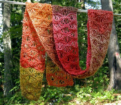 waterfall scarf knitting pattern beautiful free waterfall scarf knit pattern the spinners