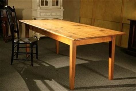 Barn Style Dining Table by Barn Style Dining Table With Golden Brown Finish