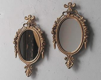 small decorative wall mirror set gallery wall frame etsy