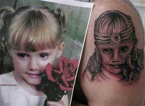 tattoo family portrait fail 15 of the worst portrait tattoo fails ever rebelcircus com