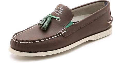 boat shoes with tassels band of outsiders sperry top sider by a o tassel boat