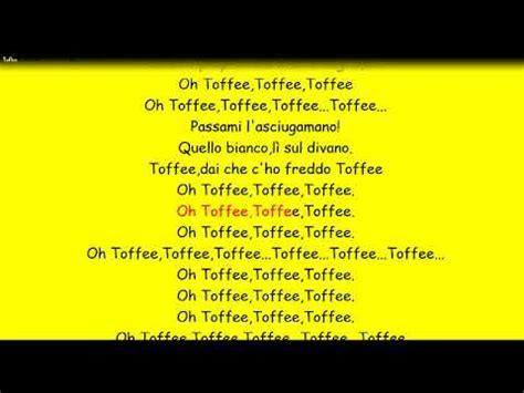 toffee vasco testo vasco toffee con testo