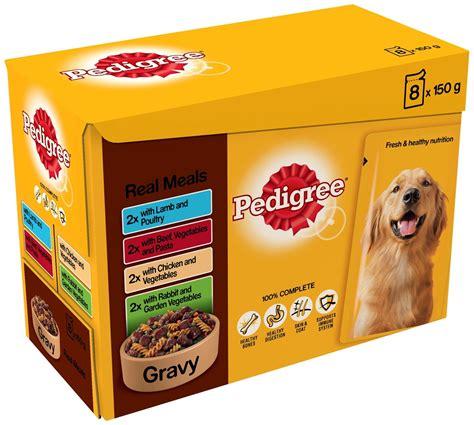 is pedigree a food pedigree pouches food