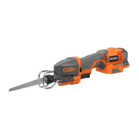 ridgid 18 volt one handed reciprocating saw console tool