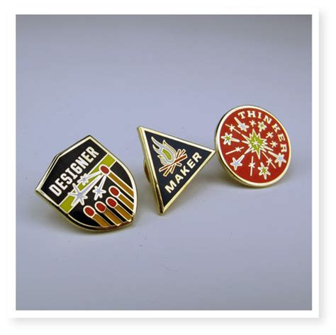 pin designer a designer maker thinker pin set to honor creators cool picks