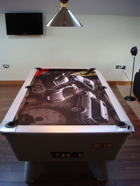 custom design pool table cloth