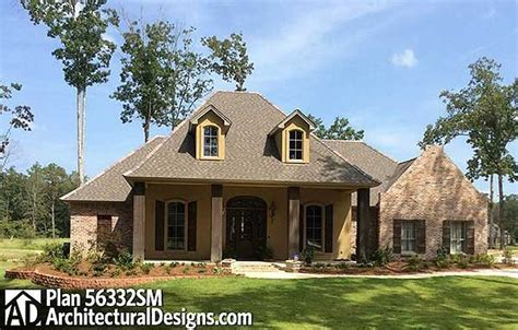 home design acadian home plans 1800 square foot house plans plan 56332sm split bedroom french country home plan
