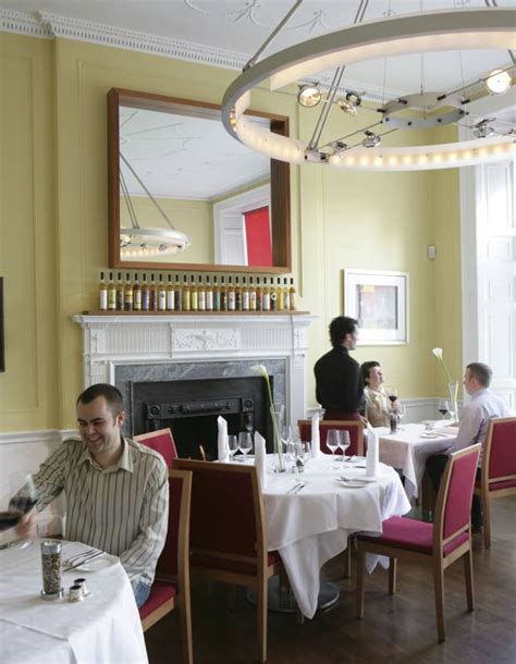 The Dining Room At The Society by A Weekend In Edinburgh With Mccall Smith