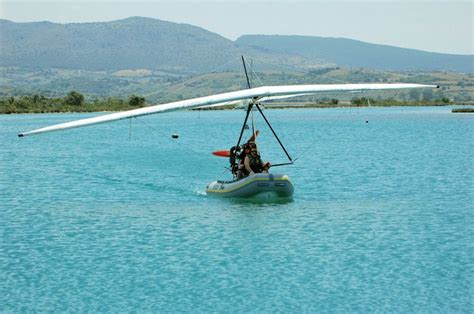 inflatable boat plane polaris fib 582 flying inflatable boat microlight and