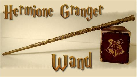 How To Make A Hermione Granger Wand by Hermione Granger Wand Diy