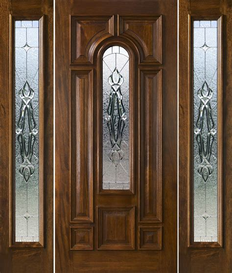 mahogany front entry door exterior doors with sidelights solid mahogany entry doors