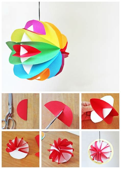 Craft For Paper - 3d paper crafts for children find craft ideas