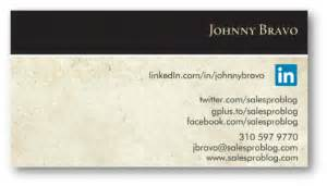 linkedin on business card how to customize your linkedin vanity url sales pro