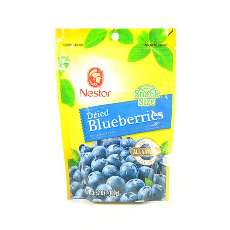 Murah Dried Blueberry 100g nestor dried blueberries snack size 100g waifood
