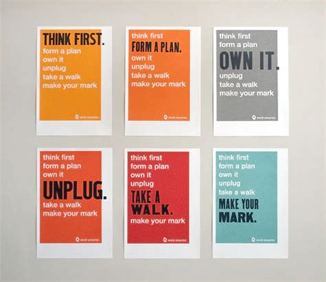 design poster series fpo work smarter poster series