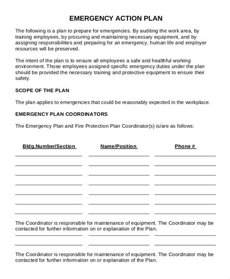 workplace safety plan template 17 plan templates free premium templates