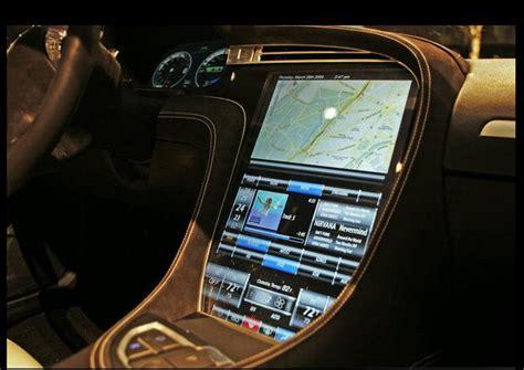 Tesla Interior Screen by Tesla Model S Revealed Peak Garage