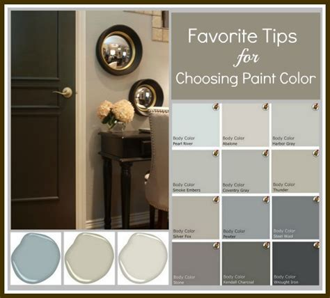 Choose Paint Colors | choosing interior paint colors cardany group real estate
