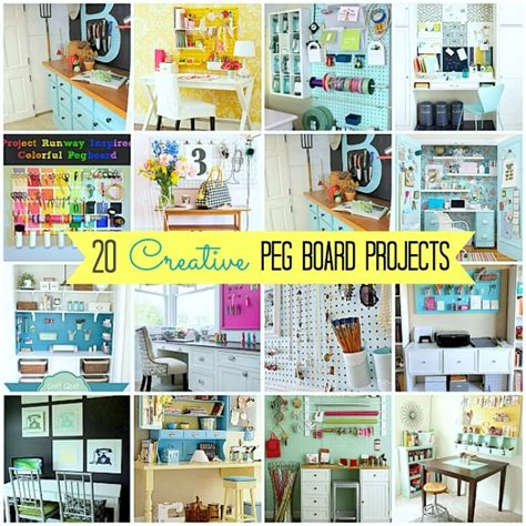 pegboard craft zimmer 20 pegboard creative spaces craft room