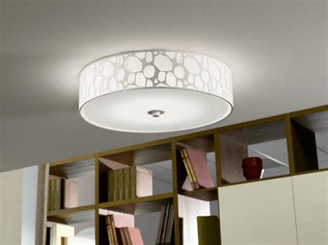 Flush Ceiling Lights Living Room Design Led Living Room L White Ceiling L Glass Ceiling Flush Light 54112 Ebay