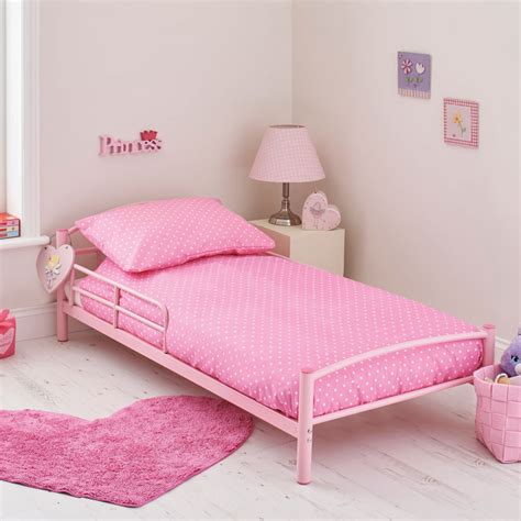 pink bed kidsaw starter toddler bed bundle pink