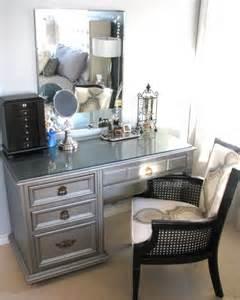 diy silver vanity decorating ideas