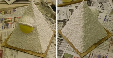 How To Make A Paper Mache Pyramid - world matakishi s tea house