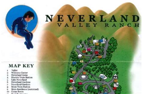michael jackson backyard park map brochure from michael jackson s neverland boing