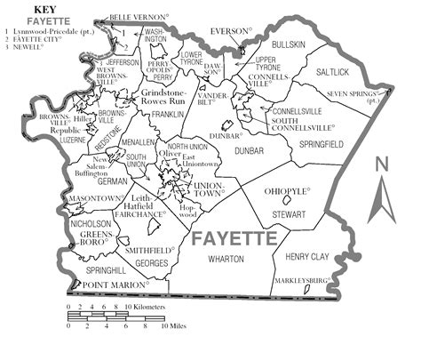 Plat Maps by File Map Of Fayette County Pennsylvania Png Wikimedia