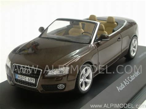 audi a5 soft top schuco audi a5 cabriolet soft top metallic brown 1 43
