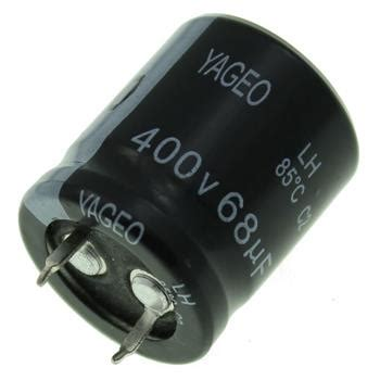 Elko 150uf 400 Volt snap in elko kondensator 68 181 f 400v 85 176 c lh400m0068bpf