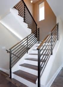 modern banister styles modern handrail designs that make the staircase stand out