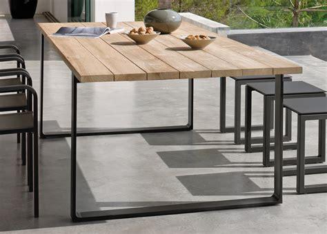 Patio Tables And Chairs Manutti Prato Teak Garden Table Garden Tables Modern