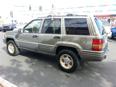 1996 Jeep Grand Mpg 1996 Jeep Grand Orvis 4wd In Fallon Nv Sand