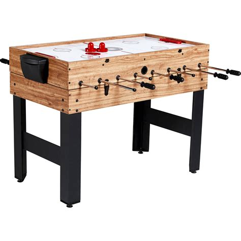 air hockey and foosball combination table 48 multi combo table 3 1 pool billiards air hockey