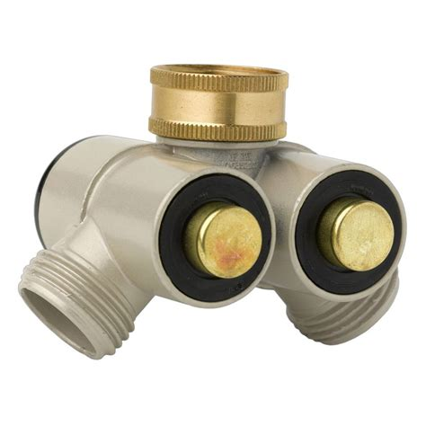 To Faucet Adapter by Push Button Outdoor Faucet Adapters The Green