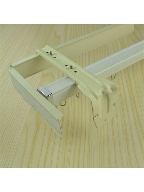 wall mount curtain track chr7725 wall mounted double curtain tracks and rails with