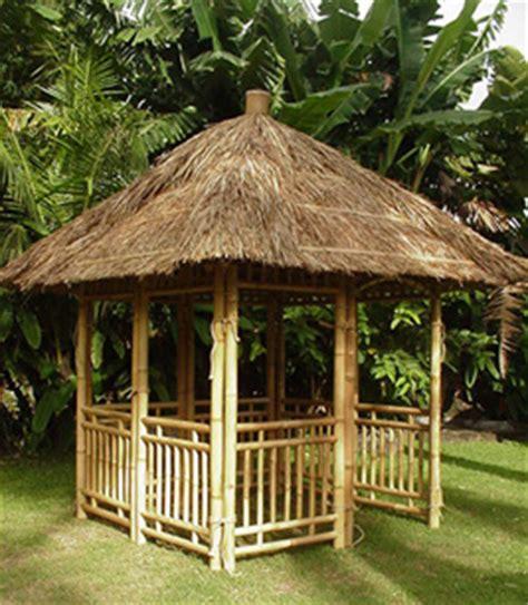 pavillon bambus bambus garten pavillon