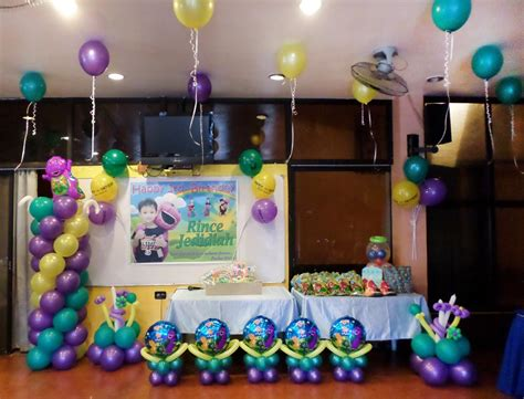 barney birthday decorations home ideas all home