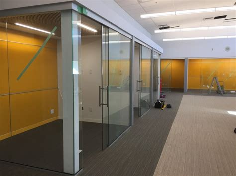 sliding glass walls interior office glass walls sliding glass doors curtain