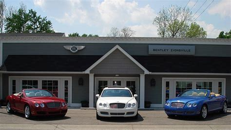 still rolling bentley dealership finds niche in zionsville