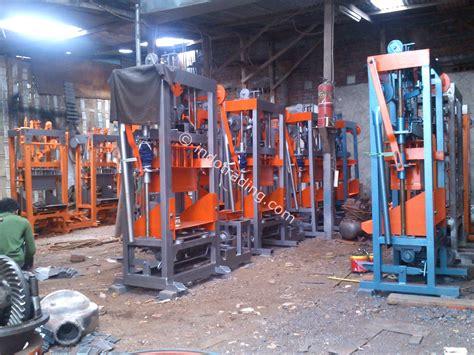 Jual Cetakan Batako Surabaya jual mesin cetak batako dan paving harga murah surabaya