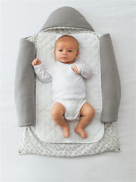 Baby Nest Grey 2 in 1 adaptable baby nest bedroom