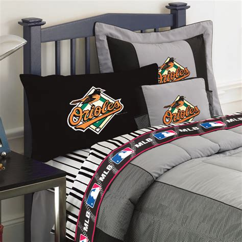 Orioles Bedroom Decor by Baltimore Orioles Size Sheets Set